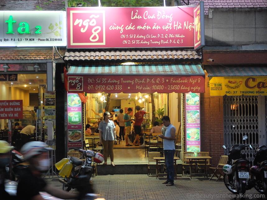 Ngo 8 Restaurant à Ho Chi Minh City