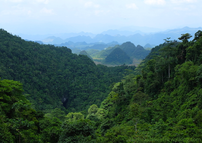 Montains in the Ha Giang Geopark